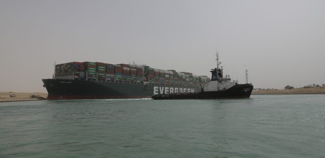 Last 61 Stranded Ships to Pass as Suez Canal Gets Unclogged after Egypt Refloats the 'Ever Given'